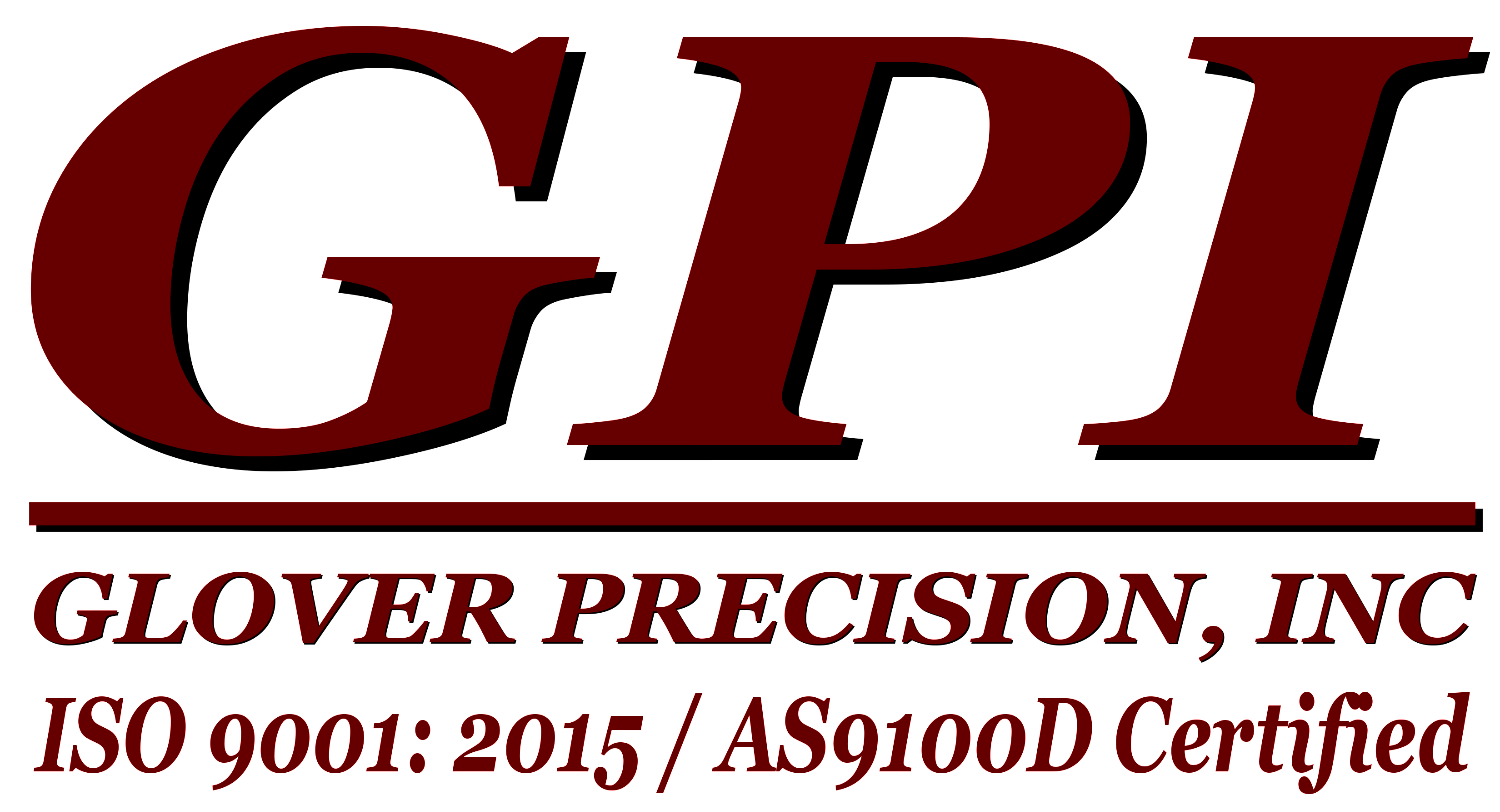 Glover Precision As9100d Certified Gpi As9100 Cnc Manufacturing