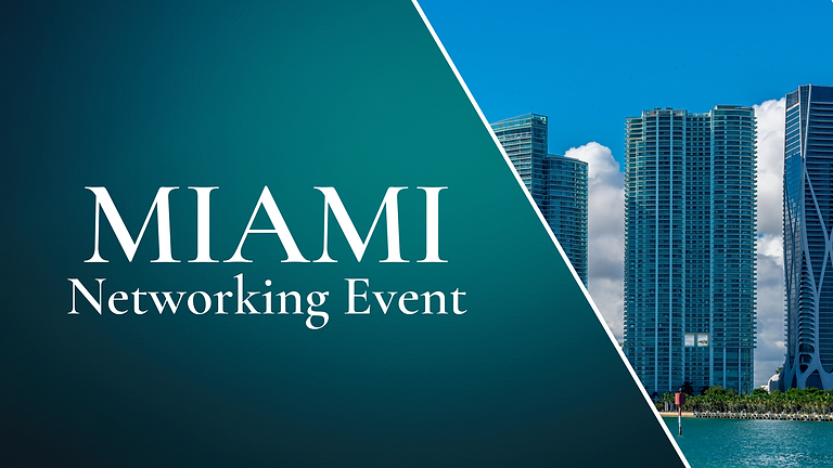 September Miami Networking Event