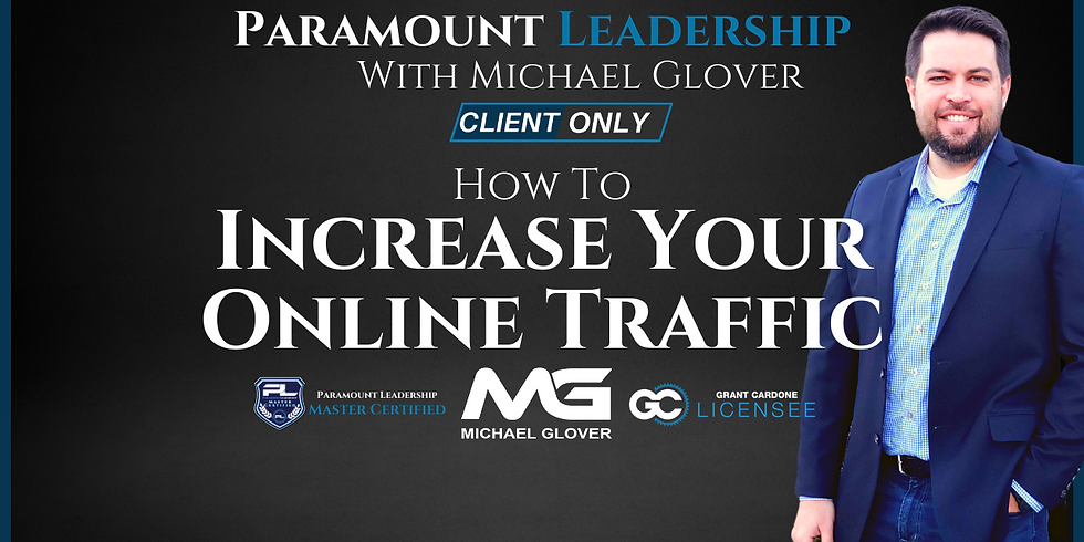 How To Increase Your Online Traffic