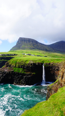 gasadalur waterfall