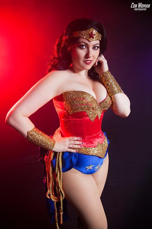 Burlesque Wonder Woman 5x7