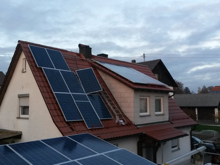 9,89 kWp in Stammham