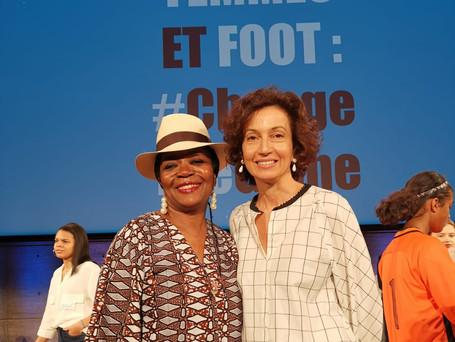 Motse Akanati & Audrey Azoulay