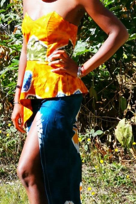 Robe Afro3 uniquement sur commande