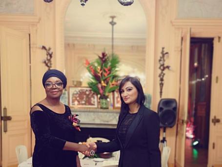 Motse Akanati & Marina Tabassum