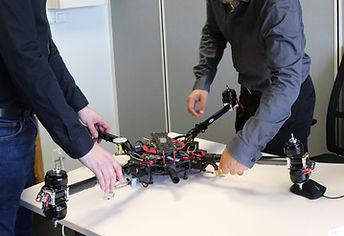 Upgrade et amélioration des drones par IKAR
