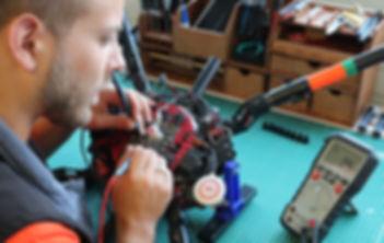 Réparation drone, dépannage et paramétrage