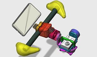 Conception drone 2D / 3D par IKAR