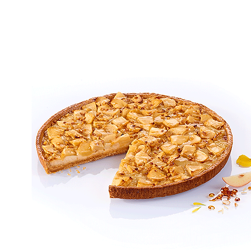 Apple Caramel and Rice Pudding Tart (x1) - HK$ 135/tart