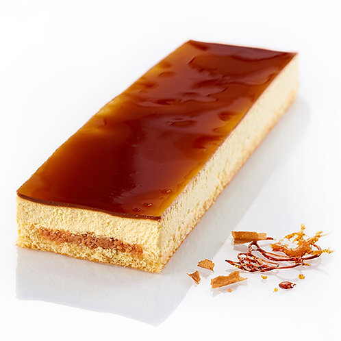 Crème Brûlée Mousse Bande (x1) - HK$ 130/cake