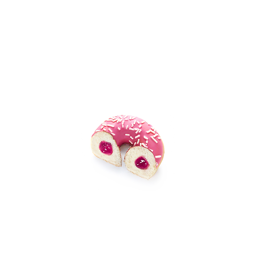 Mini Filled Strawberry Donuts (x8) - HK$ 3/pc