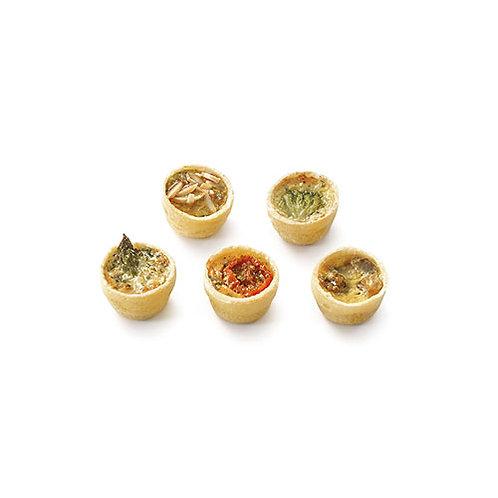 Vegetarian mini quiches (x75) - HK$ 7/pc