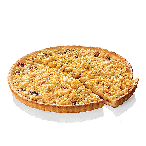 Apple and Red fruits crumble tart (x1) - HK$ 135/tart