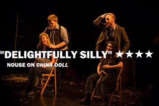 Marie Hamilton, Sam Prior, Paul Lawless and Bryony Maguire in China Doll, at The Barbican, Plymouth