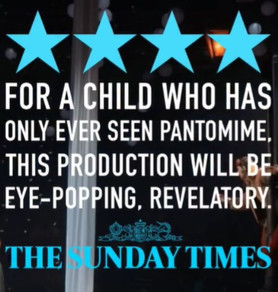 The Sunday Times on Sally Cookson's The Lion, The Witch and The Wardrobe