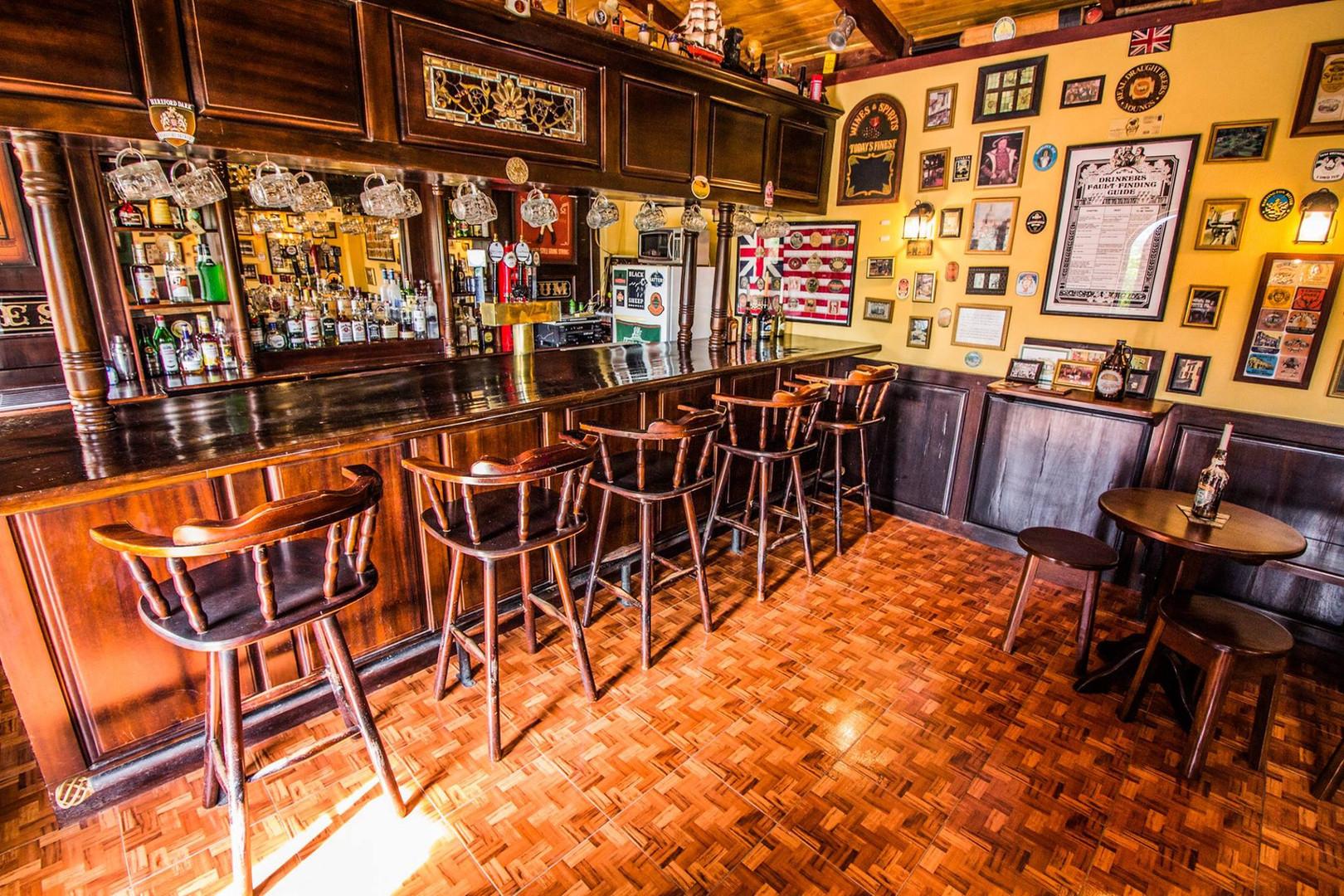 Authentic Irish Pub - Bar View