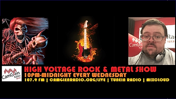 Changing Tymz 107.9 High voltage rock and metal show