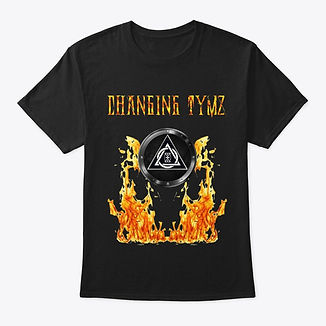 Changing Tymz Mens Custom T-Shirt