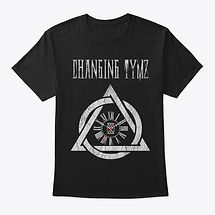 Changing Tymz Clockface T-shirt #1front