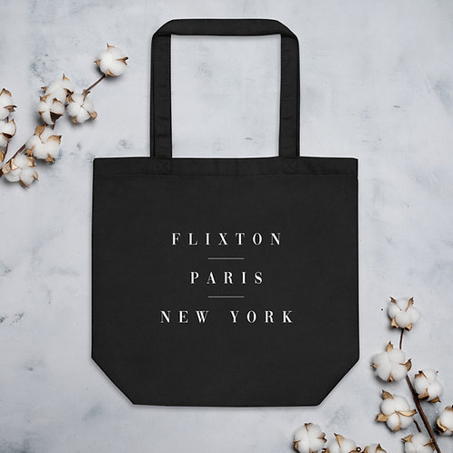 Flixton Paris New York Eco Tote Bag