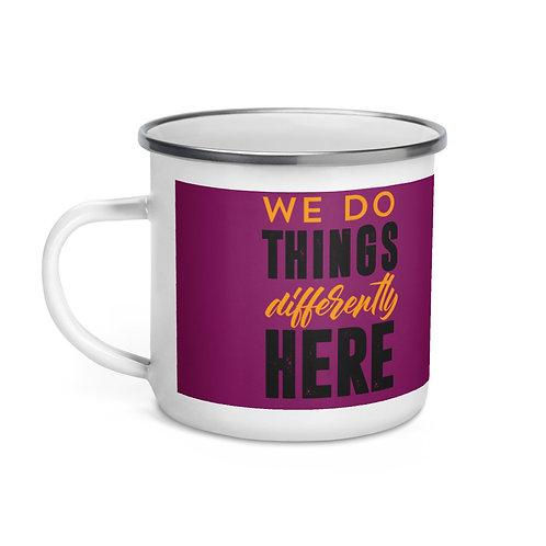 Different Enamel Mug