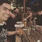 winter shakers at bar