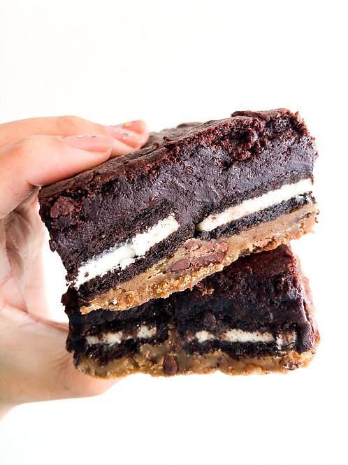 3 Slutty Brownies