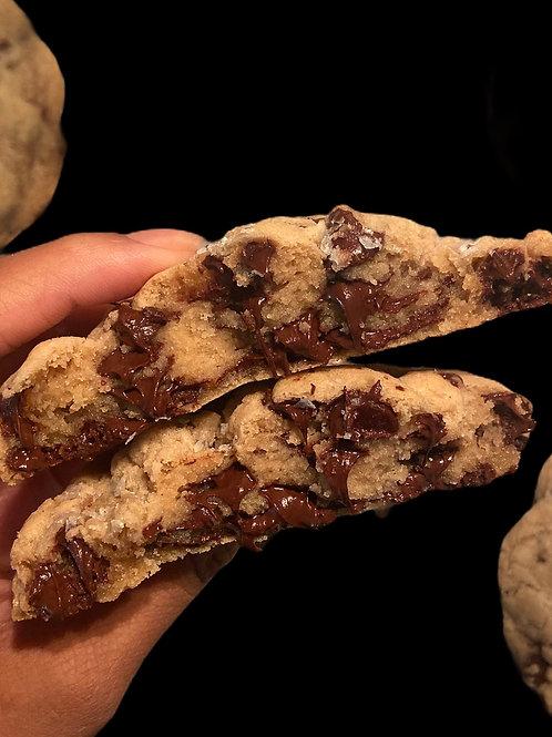 4 Jumbo Gluten Free Chocolate Chip Cookies 6oz