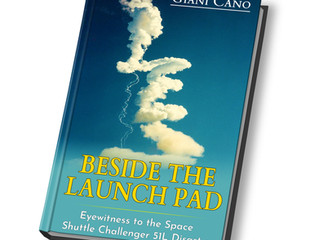 "New book release on Amazon:  Beside the Launch Pad,"" Eyewitness to the Space Shuttle Challenger"