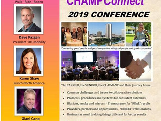 Featured speaker at Champ Conference Omni Mandalay on September 17.