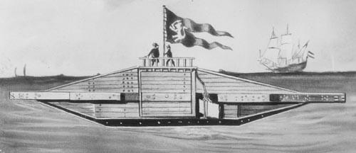 Os primeiros submarinos - 1578/1859