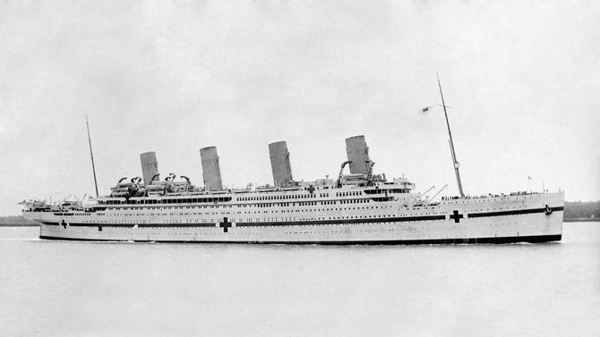 Cem anos do naufrágio do HMHS 'Britannic'