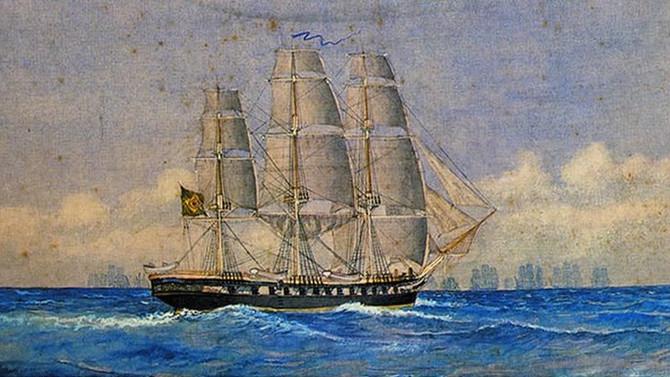 A epopeia da Fragata 'Nictheroy'