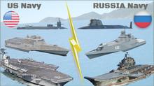 US Navy x Marinha Russa