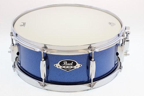 Pearl Export EXX Snare Drum 14x5.5  Aqua Blue Glitter Snare Drum