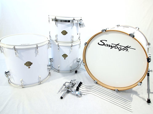 Sawtooth Percussion 4 Piece Drum Set (Shell Pack)