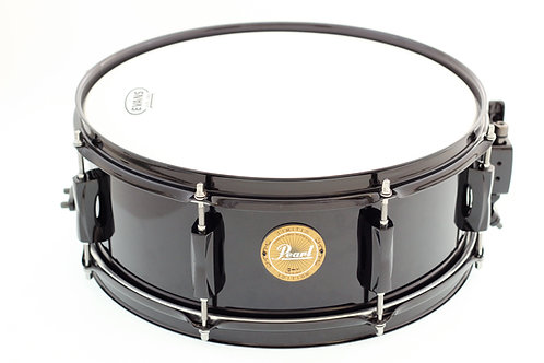 "Pearl Limited Edition Vision Birch 14"" x 5.5"" Black Snare Drum"