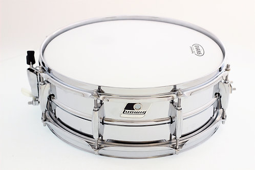 """Ludwig Chrome over Steel 14"""" x 5"""" Snare Drum"""