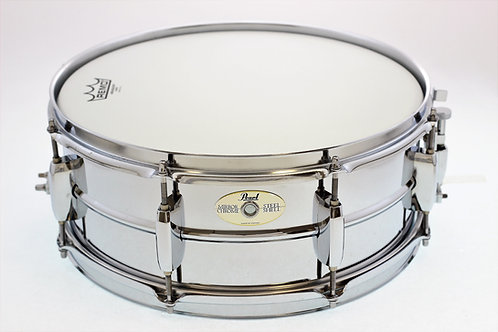 "Pearl Mirror Chrome Snare Drum 14"""