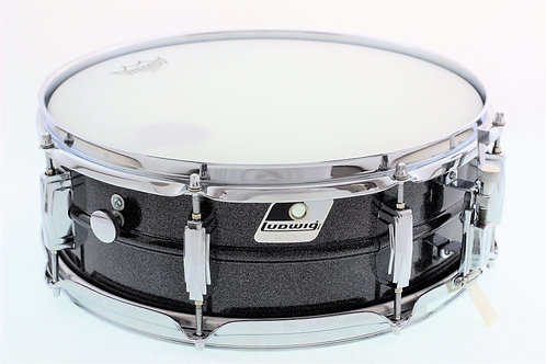 "Ludwig Black Galaxy 14"" x 5"" Snare Drum"