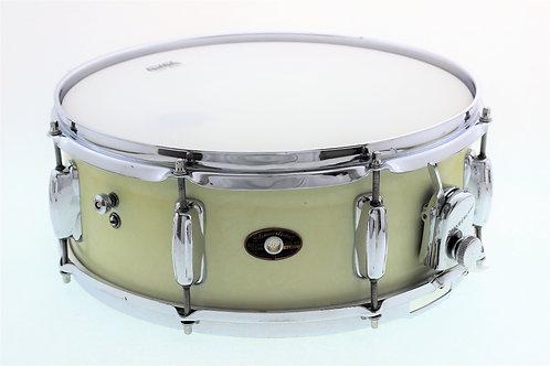 "Vintage 1960's Slingerland White Marine Pearl 14"" x 5.5"" Snare Drum"
