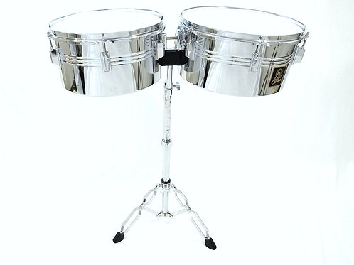 "LP 13"" & 14"" Timbales with Stand Set"