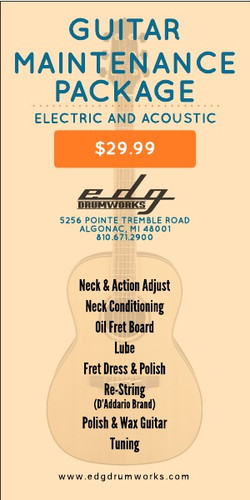 GUITAR PACKAGE BANNER AD