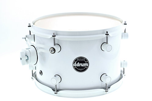 "Ddrum Reflex 12"" X 8"" New White Ride Tom"