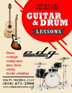 Music Lesson Flyer