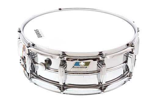 "Ludwig 1970's Supraphonic 14"" x 5"" Snare Drum"
