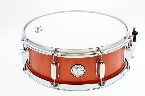 "Mapex Voyager - Natural Orange 14"" x 5.5"" Snare Drum"