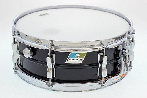 Vintage Ludwig Acrolite Blue/Olive Badge Snare Drum