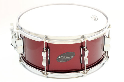 """Ludwig Accent Combo Red Wine 14"""" x 6.5"""" Snare Drum"""