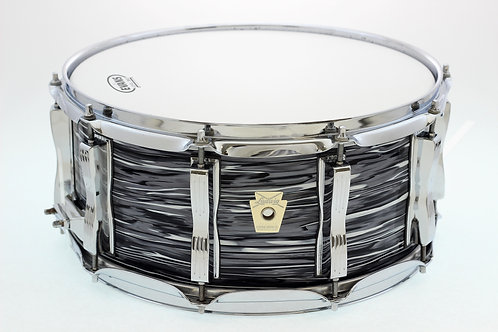 """Ludwig Classic Maple 14"""" x 6.5 Oyster Pearl Snare Drum"""